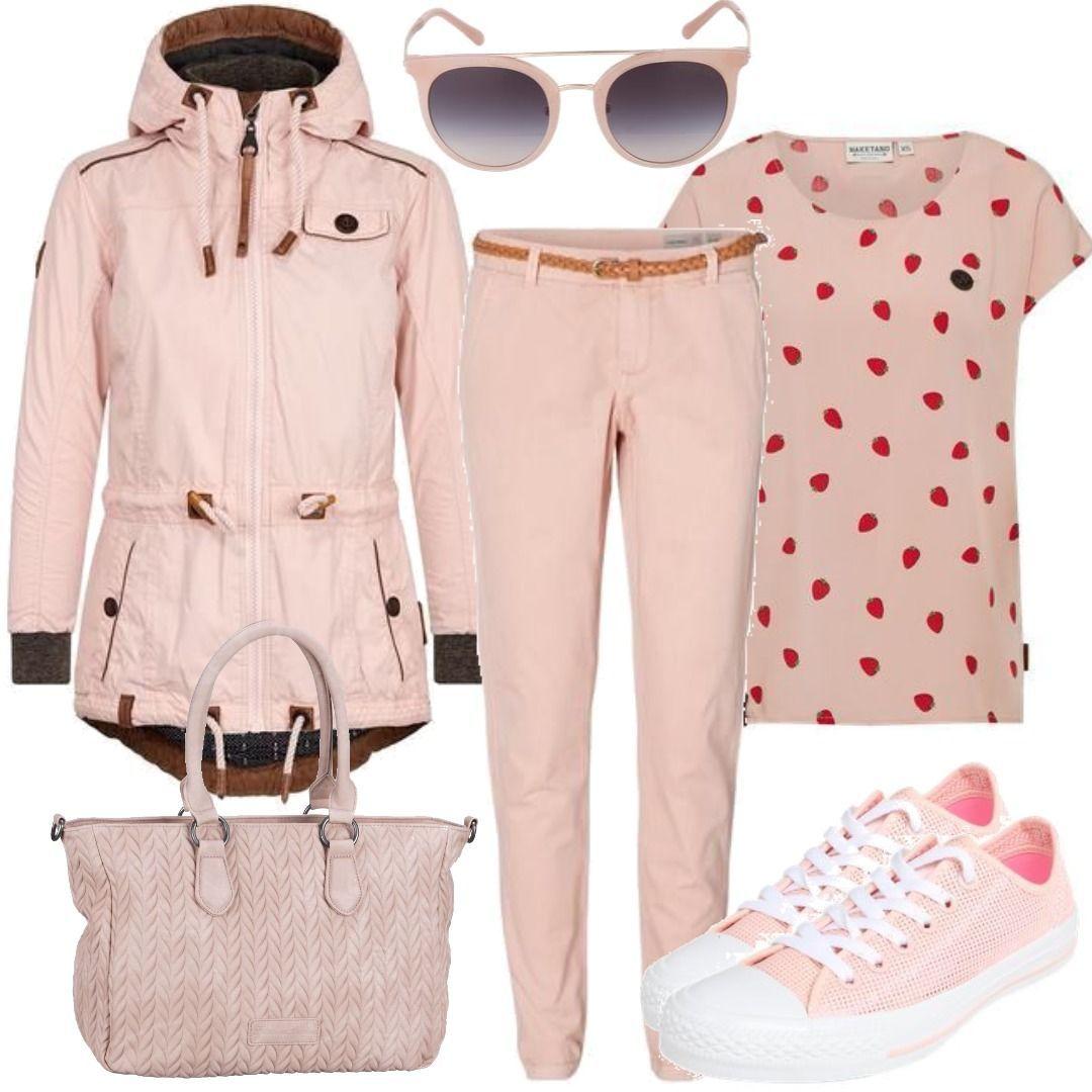Naketano Michael Kors Pink Stuff Outfit für Damen zum