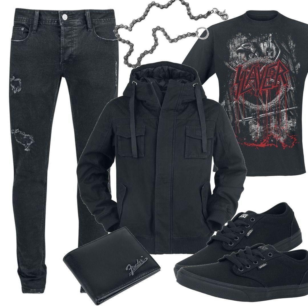 guter Verkauf Los Angeles online RED by EMP - Dave - Jeans - schwarz - EMP Exklusiv! Outfit ...