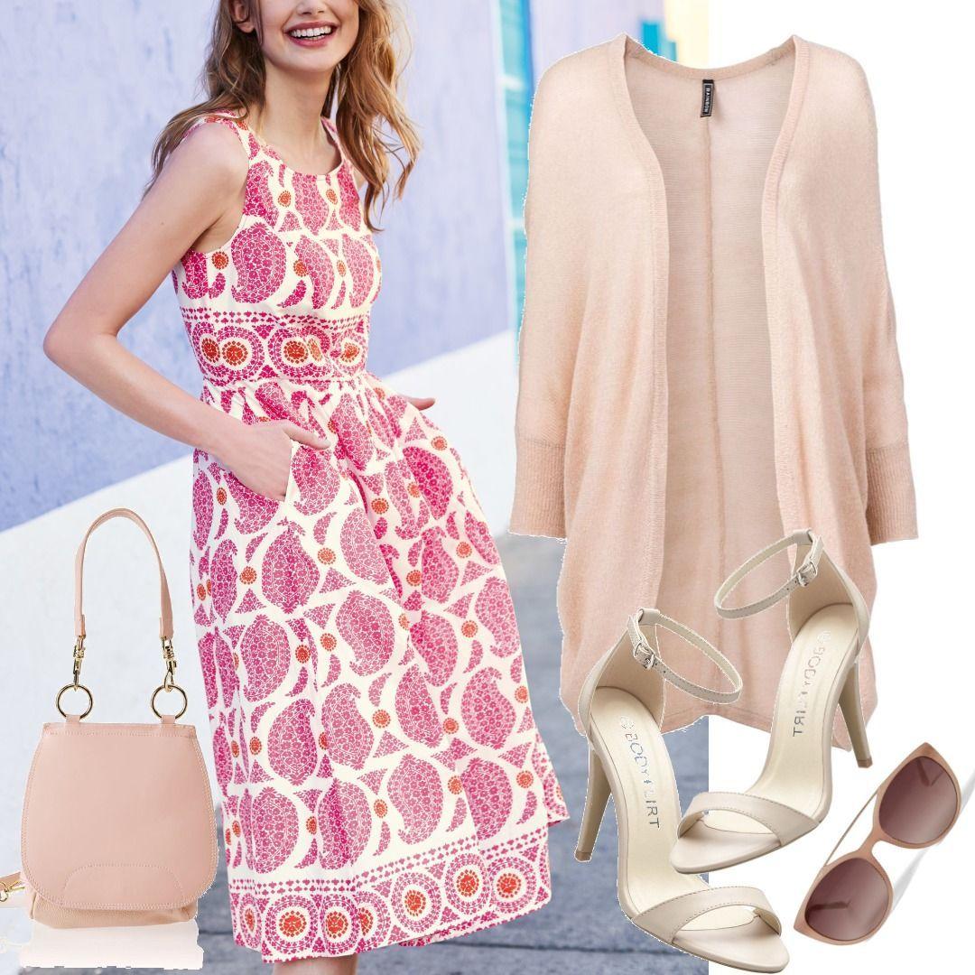 Lizzie Kleid Pink Damen Boden. für Damen zum Nachshoppen auf