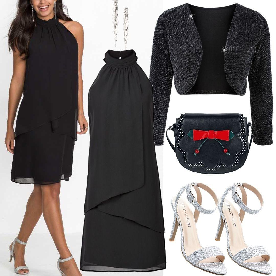 Kleid ohne Ärmel schwarz Bonprix Women Outfit für Damen zum