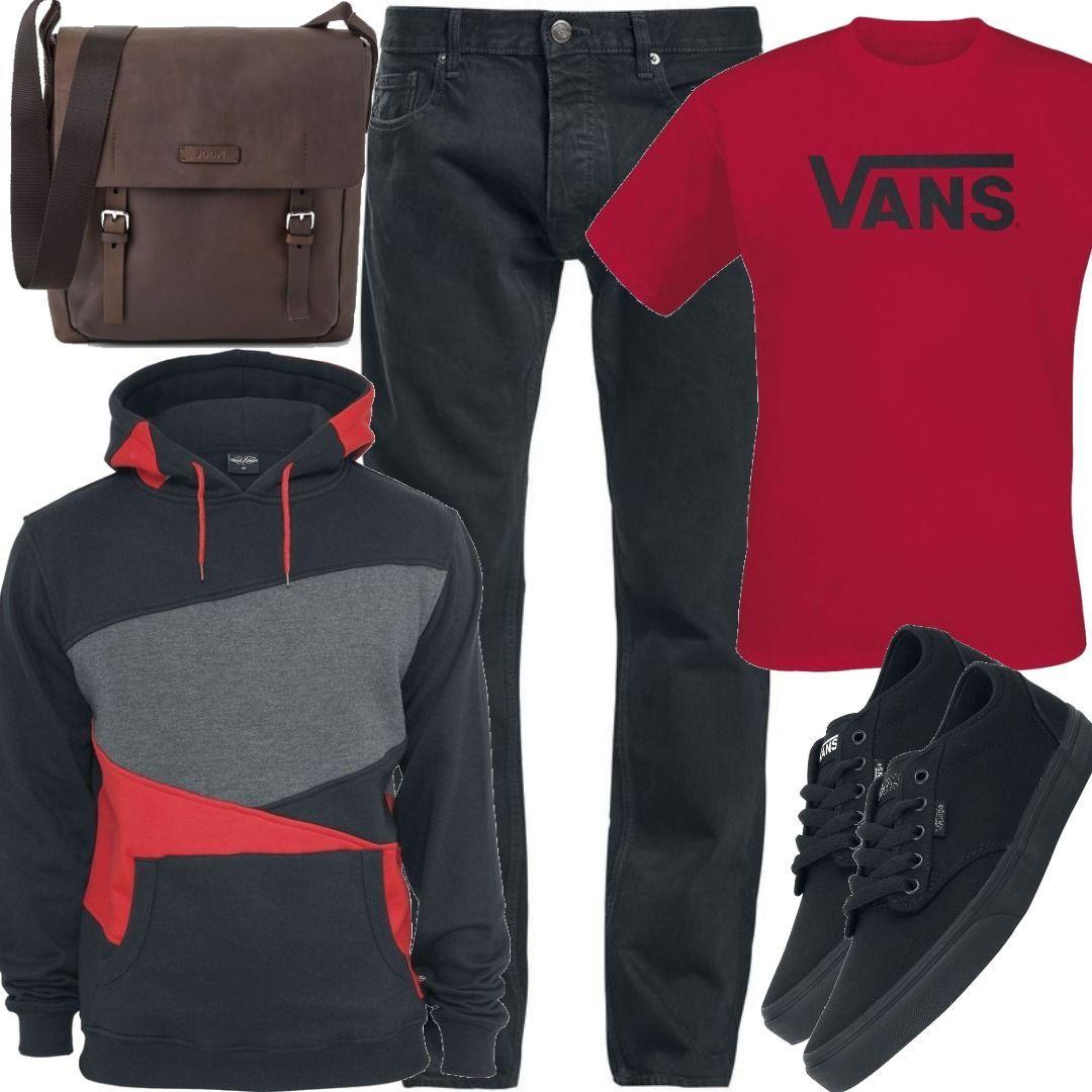 Vans Classic T Shirt Outfit für Herren zum Nachshoppen auf
