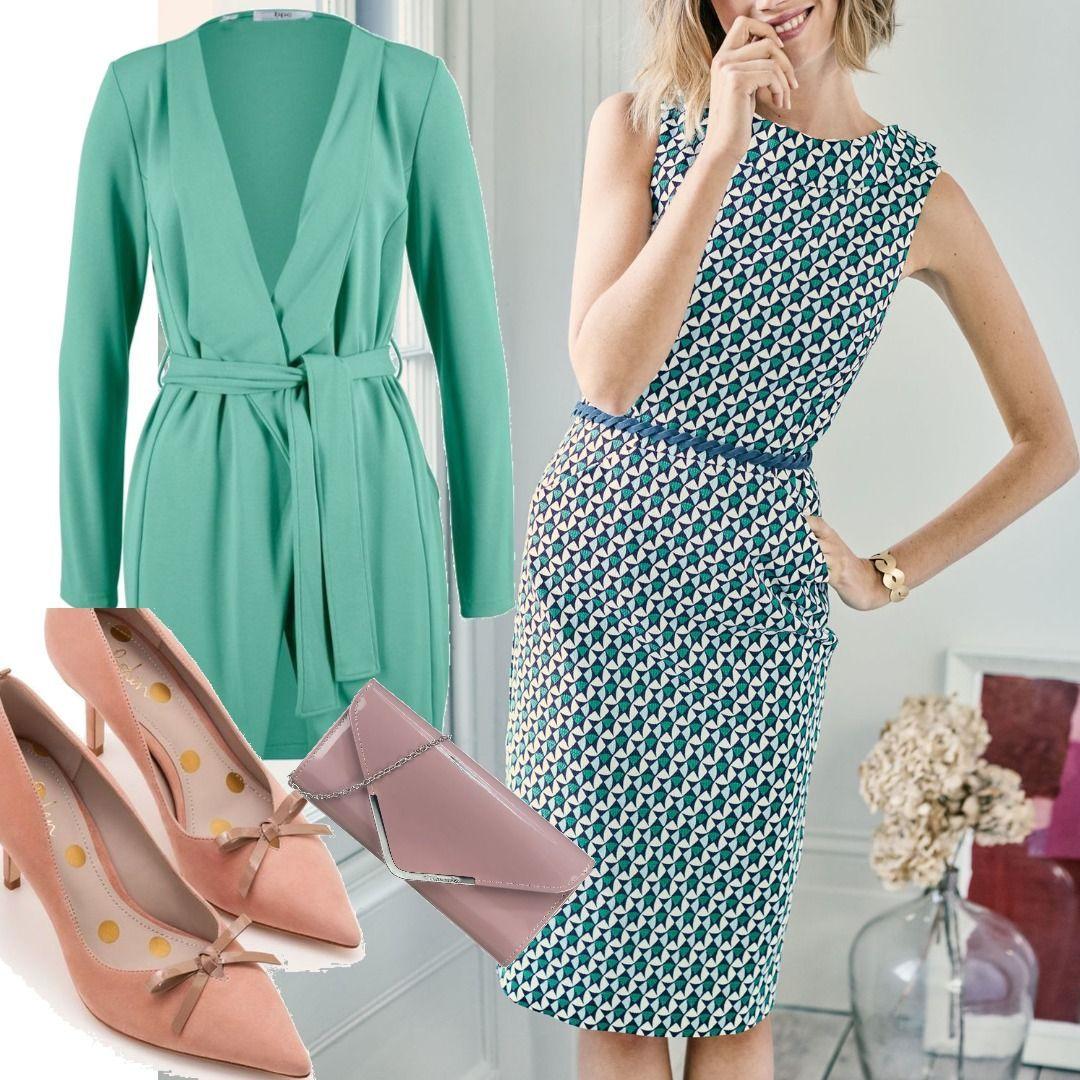 Martha Kleid mit Ziernaht Navy Damen Boden für Damen zum