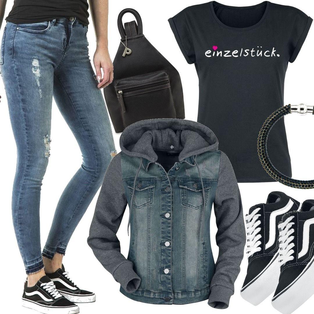 Vans - Old Skool Platform - Creepers Outfit für Damen zum