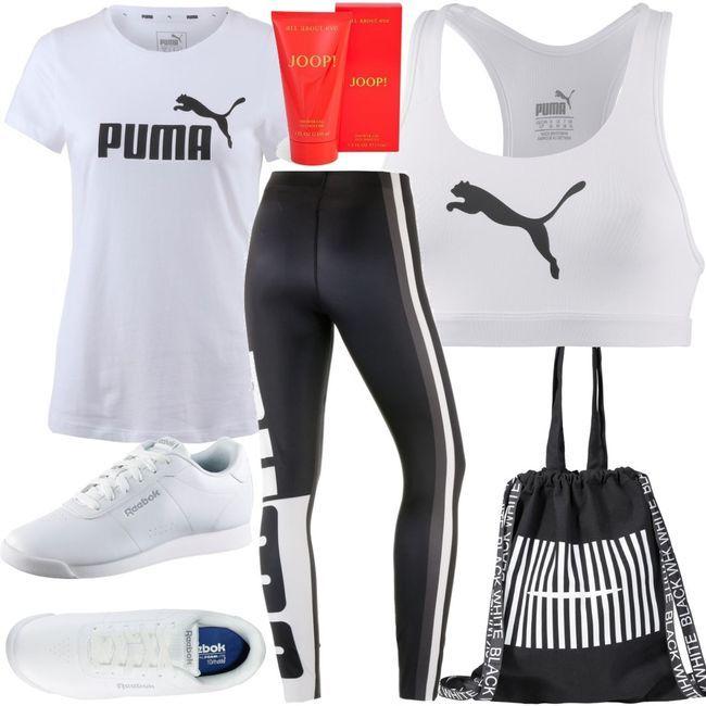PUMA 4Keeps Sport BH Women Outfit für Damen zum Nachshoppen